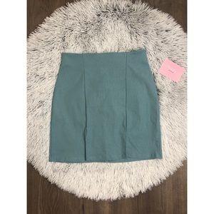 New cute blue skirt